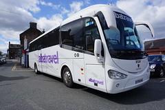 albatravel,YT15 AUJ (stonetemplepilot5) Tags: bus station scotland coach sony transport scania railreplacement lockerbie irizar a6000 albatravel sonya6000 yt15auj