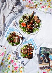 Vegan vegetable skewers with spicy tahini-carob marinade (foodpornveganstyle) Tags: food vegetables dinner vegan picnic foodporn vegetarian marinade piknik skewers veganfood obiad foodphotography veganfoodporn foodstyling marynata szaszyki foodpornveganstyle wegaskie wegaski