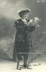 DAS, Marguerite, Sibel, Faust, Monnaie, Brussels (Operabilia) Tags: claudepascalperna goldenage opera margueritedas sibel faust gounod monnaie brussels autographe autograph soprano