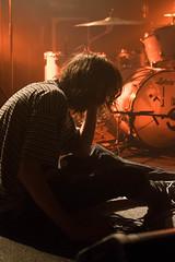 Abdomen (denise_amber) Tags: light music black silhouette rock dark back concert punk live garage band sttropez pop beam bands podium blacklight crows concertphotography leeuwarden 3voor12 abdomen musicphotography asteriks