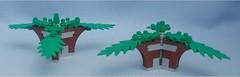 Triple Trees (Mantis.King) Tags: terrain scenery lego moc microscale mechaton mfz mf0 mobileframezero
