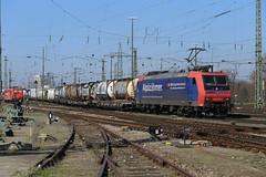 SBB 482 013 Basel Bad (daveymills31294) Tags: bahnhof sbb cargo basel 013 ffs 482 cff baureihe badischer