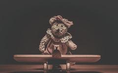 amelia bearheart - 117/366 (auntneecey) Tags: bear toy htbt day117366 ameliabearheart 366the2016edition 3662016 26apr16