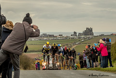 082-Editrz (Bev Cappleman) Tags: abbey bicycle race yorkshire whitby northeast northyorkshire letour cyclerace tourdeyorkshire