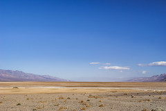 Badwater Death Valley (fate atc) Tags: california usa hot desert dry deathvalley hazy badwater inyocounty deserthaze