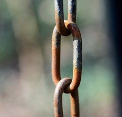 rusty chain (Danyel B. Photography) Tags: macro metal outside 1 focus close bokeh sony extreme rusty chain 25 series nah manual 90mm vivitar a7 kette fokus manuell rostige