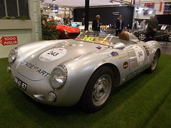 Porsche 550 Spyder MM 1955 (Zappadong) Tags: auto classic 1955 car essen automobile voiture spyder coche porsche classics techno oldtimer mm oldie carshow 550 mille miglia youngtimer 2016 automobil classica oldtimertreffen zappadong