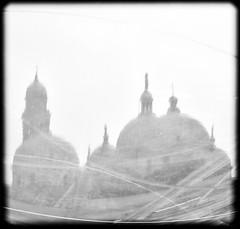 (willy vecchiato) Tags: blackandwhite abstract church window monochrome italia fuji nylon biancoenero padova 2016 monocramatico