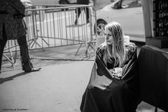 IMG_7006 - les anthinoises 2016 (Where the gloom becomes sound) Tags: street bw woman white black girl festival les canon hair photography costume long noir bokeh outdoor fair blond nathalie fest blanc renaissance 6d 2016 mdival anthines khansa anthinoises