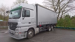MB Actros 2541 (Vehicle Tim) Tags: truck mercedes mb lkw laster pritsche actros