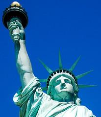 Statue of Liberty -- Liberty Island (NY) April 2016 (Ron Cogswell) Tags: gustaveeiffel statueoflibertyny frdricaugustebartholdi roncogswell statueoflibertylibertyislandnewyorkharborny frenchsculptorfrdricaugustebartholdi frenchbuildergustaveeiffel