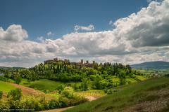 Certaldo, Toscana (Mirko Chessari) Tags: italy nature landscape village it hills toscana certaldo