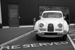 Reserved Swede (Doyleecart Photography) Tags: bw classiccar sweden aviation icon saab reserved swede motoring breakfastclub haynesmanual sparkford haynesmotormuseum doyleecart