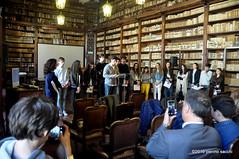M4302484 (pierino sacchi) Tags: mostra de liceo biblioteca andr visita scuola golgi universitaria broni scientifico