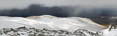 Wintry Carneddau 12 (Ice Globe) Tags: winter panorama white mountain snow mountains cold nature wales 35mm landscape frozen nikon view snowy scenic panoramic views snowing icy snowdonia llewelyn wintry carneddau carnedd foel grach landsacpes d5100