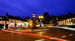 Usk Square (RogerReg) Tags: clock usk traffictrail usksquareclock