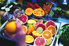 Fruits (Analog World Thru My Lenses) Tags: fruits factory soho poland warsaw epson v800 rikenon50mmf14 inexplore ricohxr7 epsonv800 fujifilmsuperiaxtra400exp