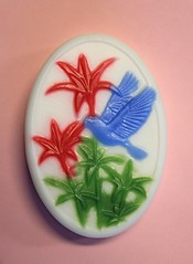 Hummingbird $4.00 (Clelian Heights) Tags: animals hummingbird soaps unscented decorativesoaps cleliansoaps