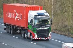 Eddie Stobart 'Aria Jane' (stavioni) Tags: truck reading motorway jane group lorry eddie trailer m4 aria esl stobart h4450 kx65oxs
