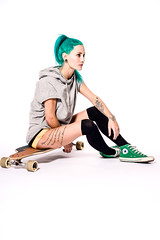 Skater Girl (benpeterphoto) Tags: street green girl beauty fashion sport hair studio relax fun photography photo model photoshoot board style converse skate skateboard skater fitness chill chucks fit sk8 sk8ordie skatergirl skateordie streetstyle longboad benpeter benpeterphoto