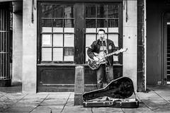 Jacen Bruce (aljones27) Tags: street city cambridge urban blackandwhite bw building monochrome artist guitar player singer busker performer cambridgeshire matchpointwinner jacenbruce mpt489