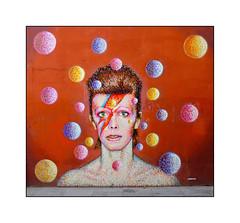 David Robert Jones aka David Bowie (8th Jan 1947 - 10th Jan 2016) of Brixton, South London. (Joseph O'Malley64) Tags: uk greatbritain england london bowie britain british southlondon brixton davidbowie ziggystardust aladdinsane davidrobertjones jimmyc thethinwhiteduke