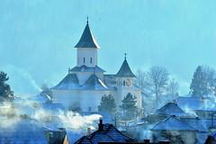 Winter light (dan_m_gh@yahoo.com) Tags: winter church smog village romania vama bucovina daarklands outstandingromanianphotographers