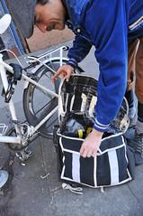 Courier Boyd Littell and his work bike-11.jpg (BikePortland.org) Tags: couriers messengers workbike bikemessengers boydlittell