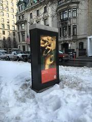 Met Poster - NYC (verplanck) Tags: nyc snow art poster fifthavenue uppereastside metropolitanmuseumofart museummile