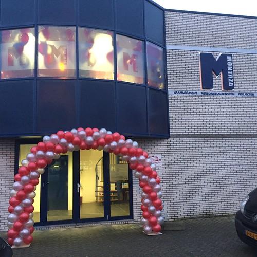 Ballonboog 7m Montaza Spijkenisse