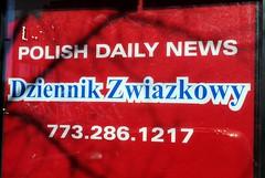 Polish Daily News (Cragin Spring) Tags: city red urban usa chicago illinois midwest unitedstates unitedstatesofamerica chitown polska polish il northside chicagoillinois chicagoil windycity polishdailynews