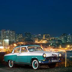 1st series GAZ M21 (W.Grabar) Tags: car soviet 1958 oldtimer 50s volga gaz21 gaz21volga 21 einsteine640