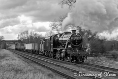 GCR-WINTER-GALA-64 (Steven Reid - Reid Photographic) Tags: railroad heritage train vintage smoke engine railway steam locomotive steamengine 280 stainer steamlocomotive lms 2016 greatcentralrailway gcr 8f wintergala heritagerailways 48624 8fclass