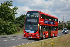 13022 - BG14 ONT (Solenteer) Tags: volvo blackheath wrightbus selkent gemini3 stagecoachlondon 13022 b5lh bg14ont