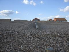 Hayling beach , Aug 2007 (busmothy) Tags: sky beach hayling shingle groyne 4616