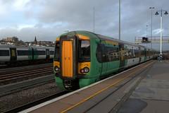 377426 (40011 MAURETANIA) Tags: train brighton transport southern emu britishrail unit 442 387 313 377 govia overallroof