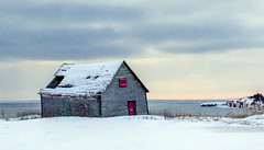 My Favorite house (Danny VB) Tags: ocean new winter sunset sea sky favorite house snow seascape canada ice beach nature water clouds barn canon landscape happy eos frozen casa frost december quebec hiver year sigma playa newyear atlantic reddoor ciel freeze 7d shutter porte 30mm14 neige dannyboy nuage paysage maison plage froid gaspesie fenetre winterhouse sigma30mm14 redshutter hivercanadien capdespoir canoneos7d dannyvb canadienwinter