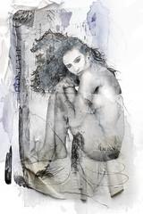 postalnude (mollsmum) Tags: peru beauty portraits model glamour artistic modeling models highkey brunette fio boudior columbian artisticnudes moodart implieds thecolbyfiles