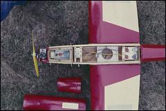 Vintage RC Plane (01) (Hans Kerensky) Tags: 120 plane vintage scanner agfa servo rc metz 200s plustek opticfilm