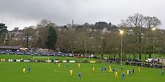 Bodmin Town 1, Ipswich Wanderers 3, FA Vase 4th round, January 2016 (darren.luke) Tags: landscape town football cornwall wanderers fc ipswich grassroots cornish bodmin nonleague
