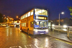 Stagecoach Fife 18390 MX55ZNH - Inverkeithing (South West Transport News) Tags: fife alexander dennis stagecoach trident inverkeithing 18390 mx55znh