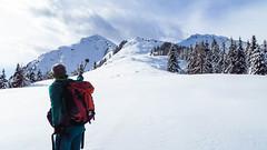 Do geht's auffi auf's Hahnl (Uli - www.auf-den-berg.de) Tags: schnee winter snow outdoor hiking sdtirol altoadige schneeschuhwanderung wndern hahnl scnowshoe