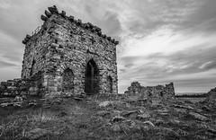 Rothley Castle Mono (Kevin_R_Shaw) Tags: architecture blackwhite ruins northumberland rothleycastle fe1635mmf4zaoss sonya7rii