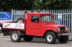 JYH 92W (Nivek.Old.Gold) Tags: pickup 1981 daihatsu f55 rpw 2500cc ashwellgarage