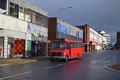 Hyndburn Hopper 19/02/16 (MCW1987) Tags: mercedes m mm coaches mellor bodied o814 x3mmc