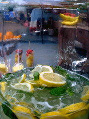 Fruit Flavoured Freshness (Eddy Allart) Tags: food glass festival rotterdam lemons jar
