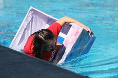 Physics Boat Races (The MC SUN) Tags: water pool boats boat photojournalism mc physics races tiffany mchs luu mtcarmel sundevils homemadeboat mtcarmelhighschool tiffanyluu mcsundevils