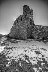Salinas Pueblo Missions National Monument, Abo (sarahmcomish) Tags: blackandwhite monument monochrome architecture ruins outdoor stonework missions hdr