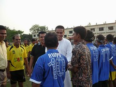 Inspiring SnA Fleet Football Team