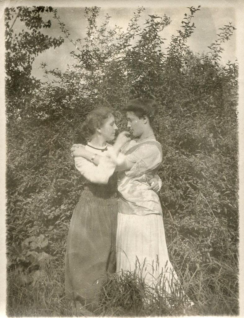 Sort vintage lesbisk